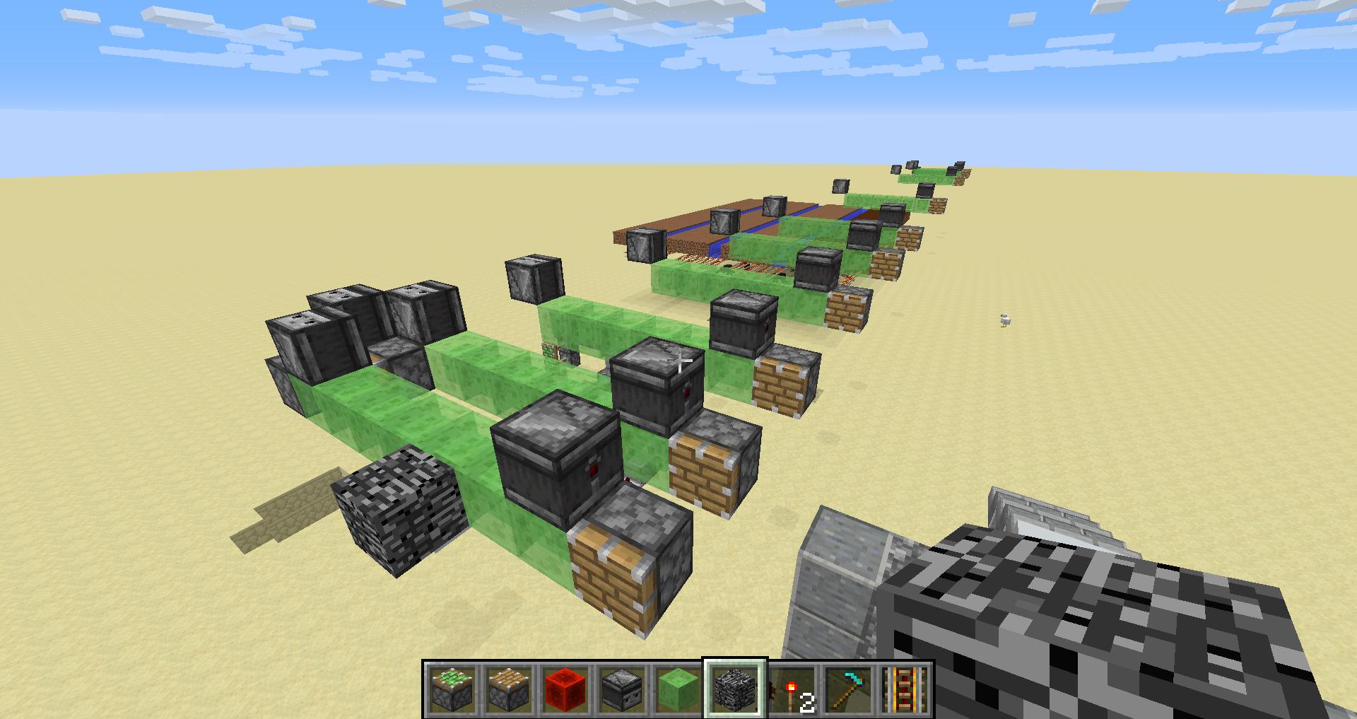 BUG] [1 12 2] Vanilla flying machines duplicating blocks    sorta