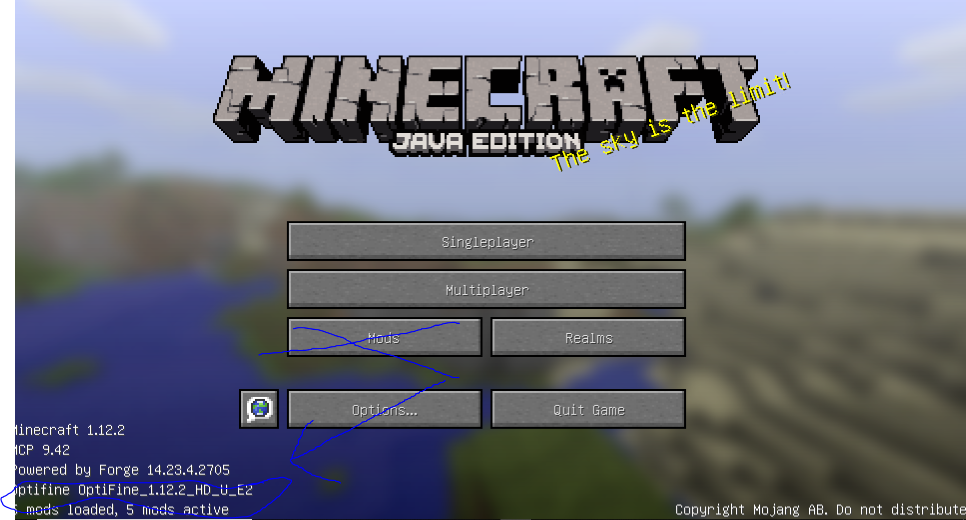 minecraft forge and optifine