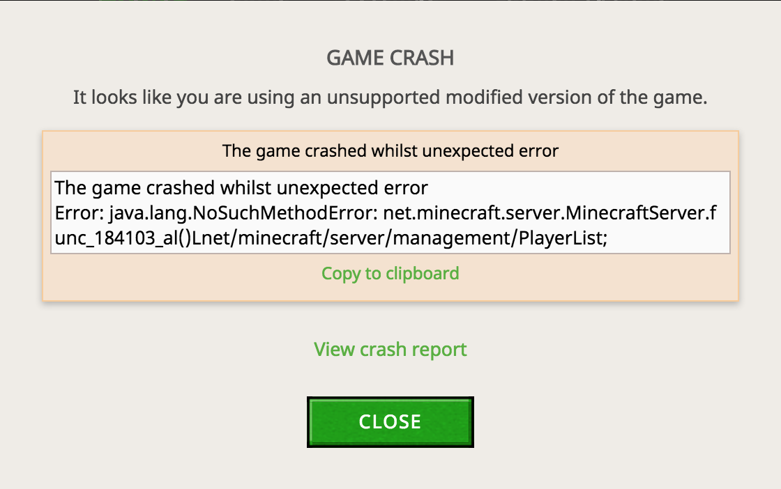 Forge 1 8 9 keeps crashing - Support & Bug Reports - Minecraft Forge