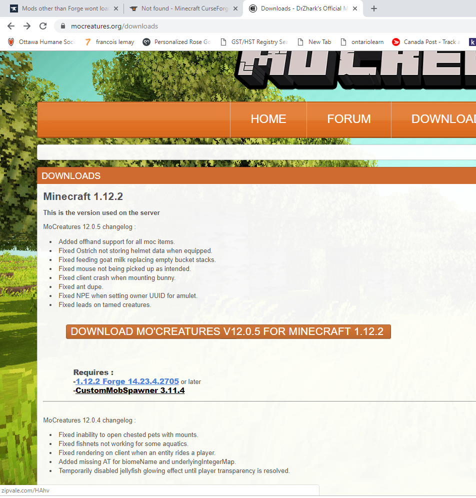 Mods other than Forge wont load - Mods - Minecraft Forge Forums