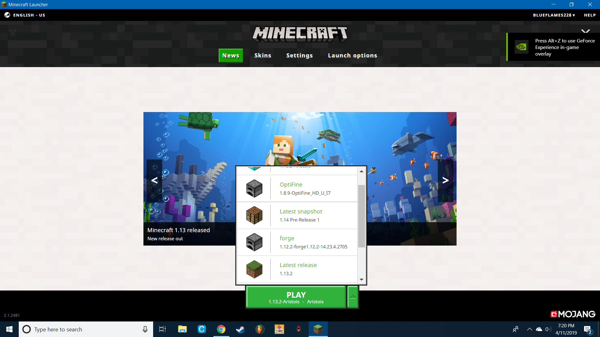 Forge not showing up in Minecraft launcher - Support & Bug ...