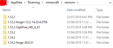 minecraft forge not showing up